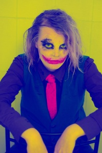 heath ledger joker shoot