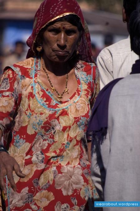 fashion woman indian street