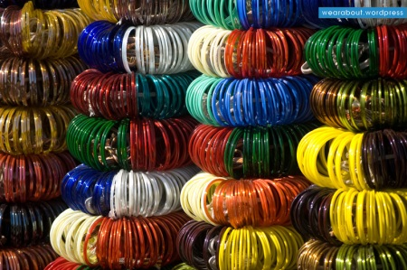 street fashion bling bangles