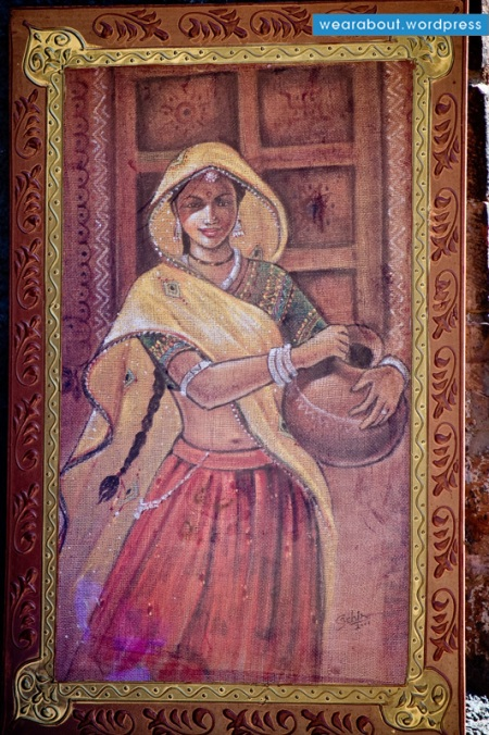 indian rajasthani woman fashion