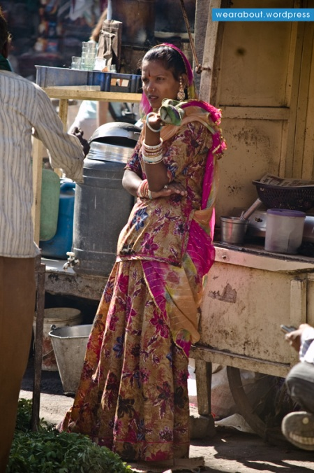 sari fashion woman india blog