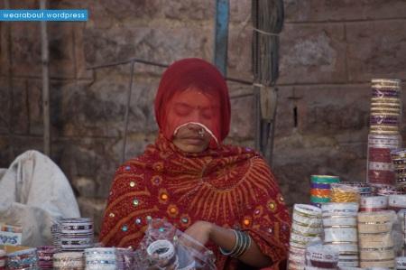 bangle seller street