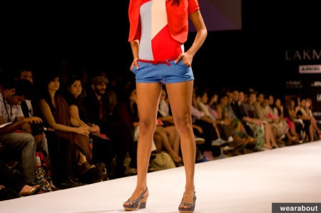 color blocking indian fashion