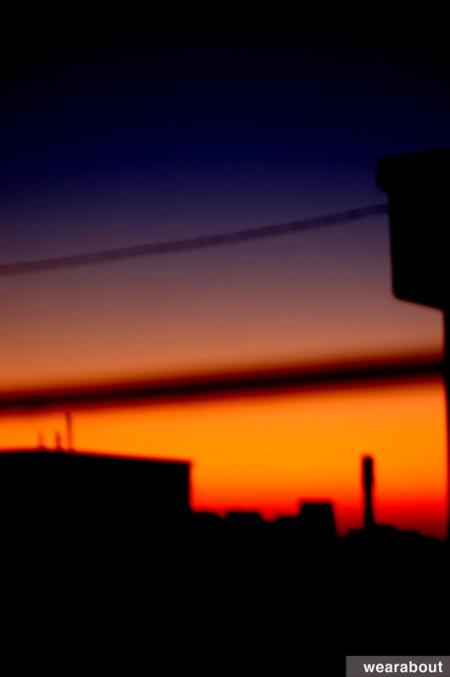 color blocking sky