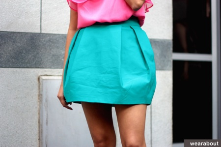 color blocking fashion blog