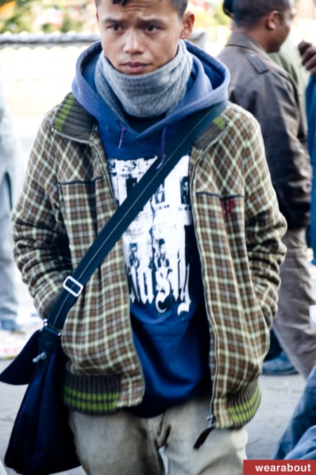 street fashion shillong india