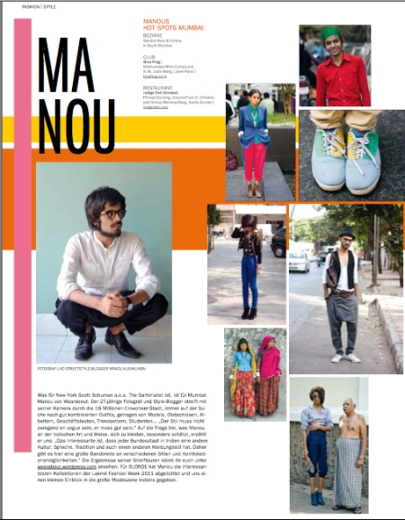 manou wearabout featured in blonde magazine