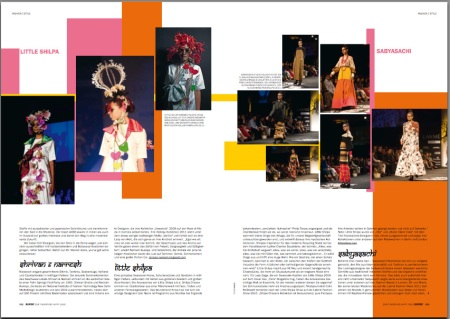 blonde magazine little shilpa sabyasachi