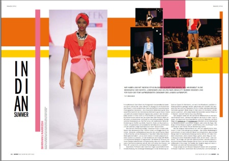 blonde magazine germany indian fashion story
