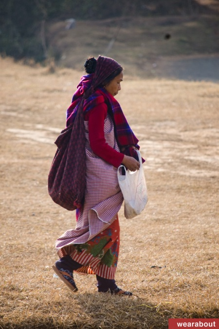 khasi women street fashion shillong