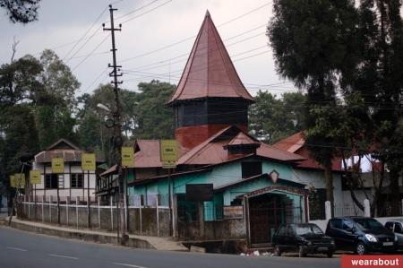 shillong street