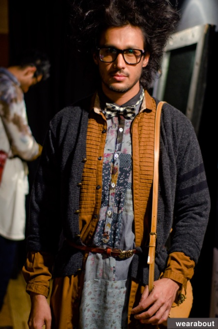 MOHAMMED JAVED KHAN backstage
