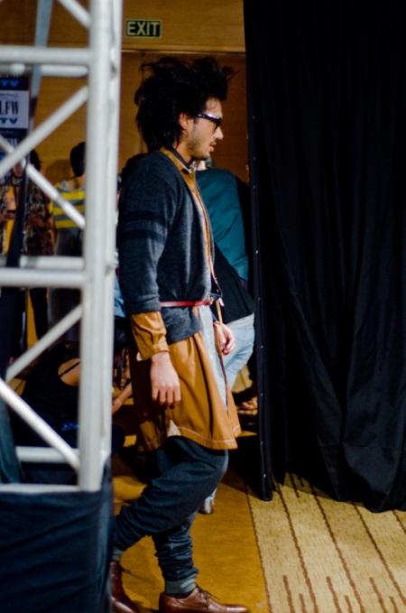 MOHAMMED JAVED KHAN backstage