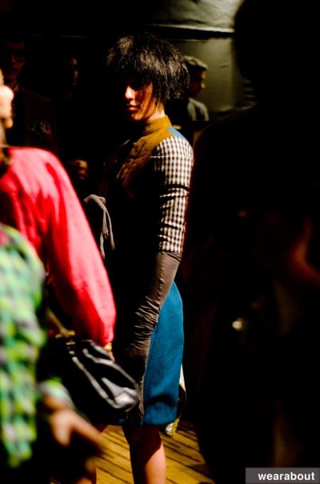 Urmi ghosh backstage