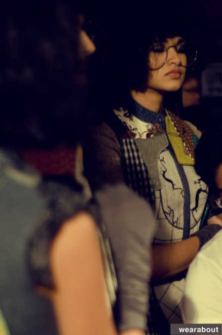 Urmi ghosh backstage