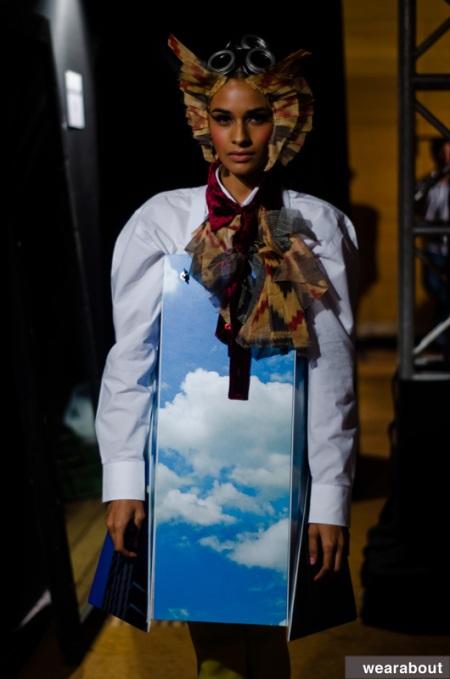 little shilpa DHL lakme fashion week 11 backstage