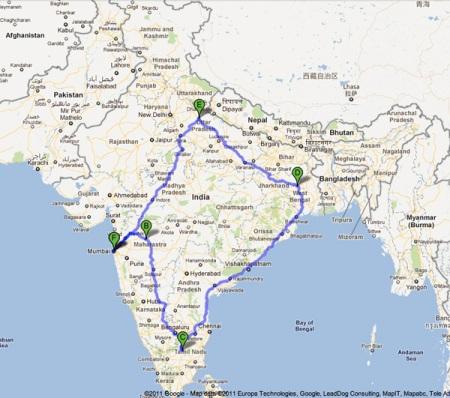 india map travel