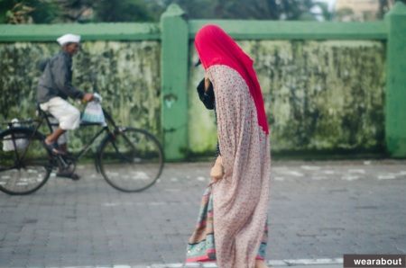 street fashion indian woman