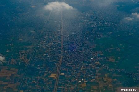 delhi from sky