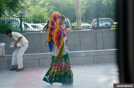street fashion indian woman