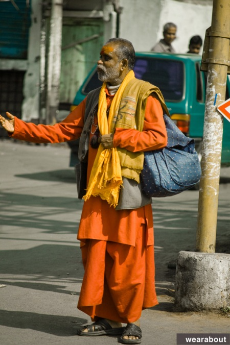 street style india sadhu