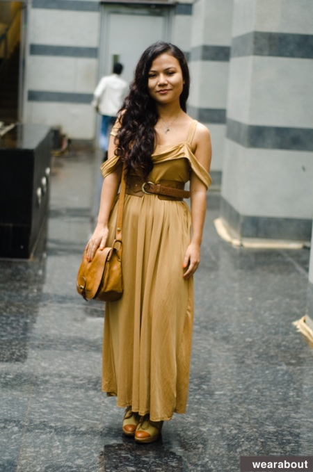 Christina M Hanghal street style india
