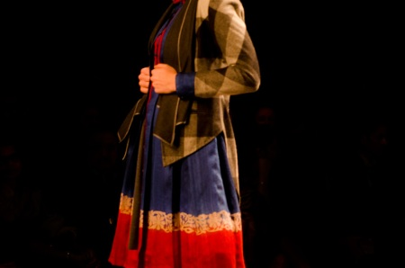 Anju modi wills india fashion week