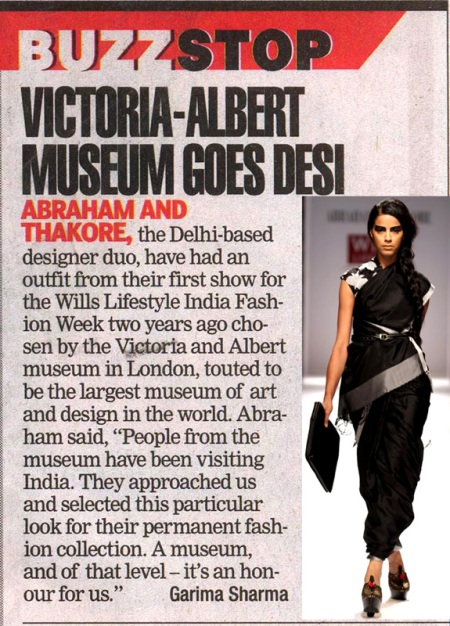 Abraham and Thakore V&A