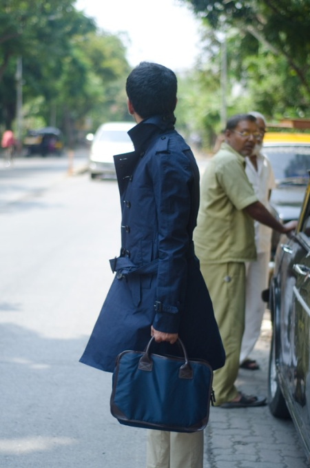 street style india art of the trench burberry