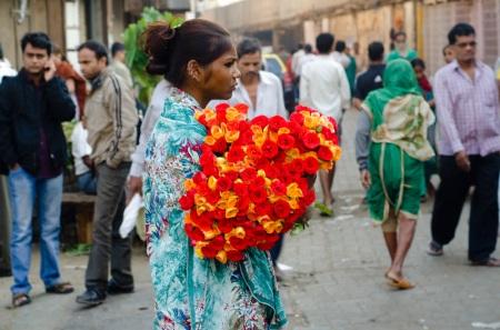street style mumbai dadar flower market