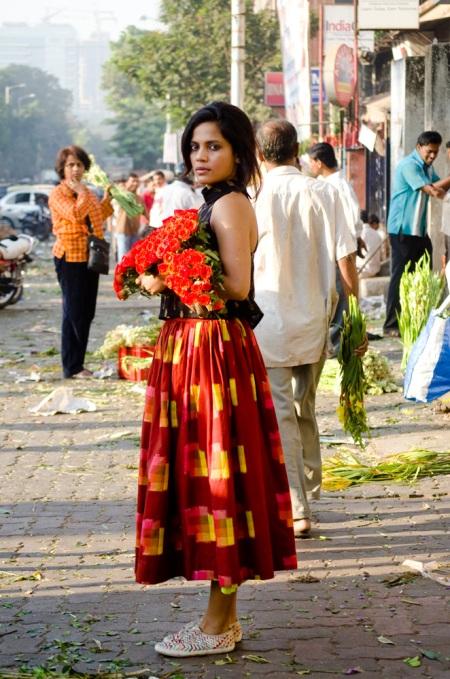 priyanka bose dadar flower market