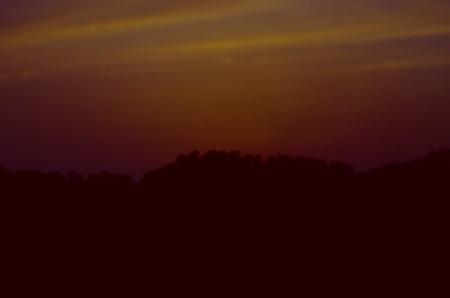 sunset dharamsala