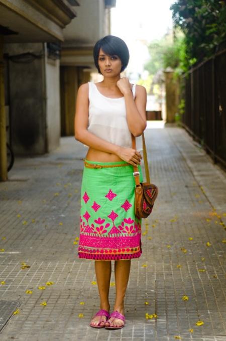 meera ganapathi street fashion mumbai