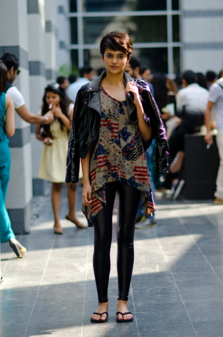 Natasha Ramachandran fashion model india street style