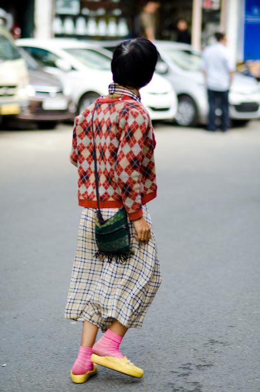 street style woman aizawl india