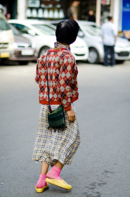 street style woman aizawl india
