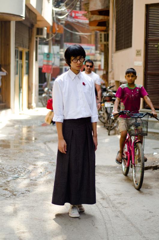 vibhash sharma street fashion delhi india