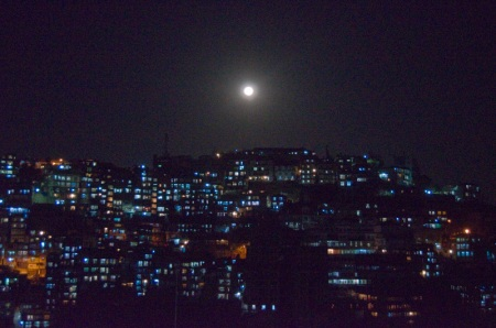 aizawl city full moon india