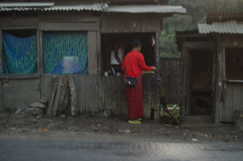 woman street shillong