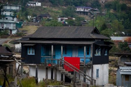 house in meghalaya india