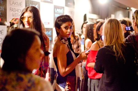 lakme fashion week mumbai backstage