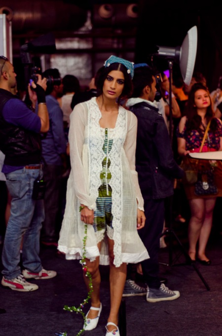 pero backstage 2012 fashion week