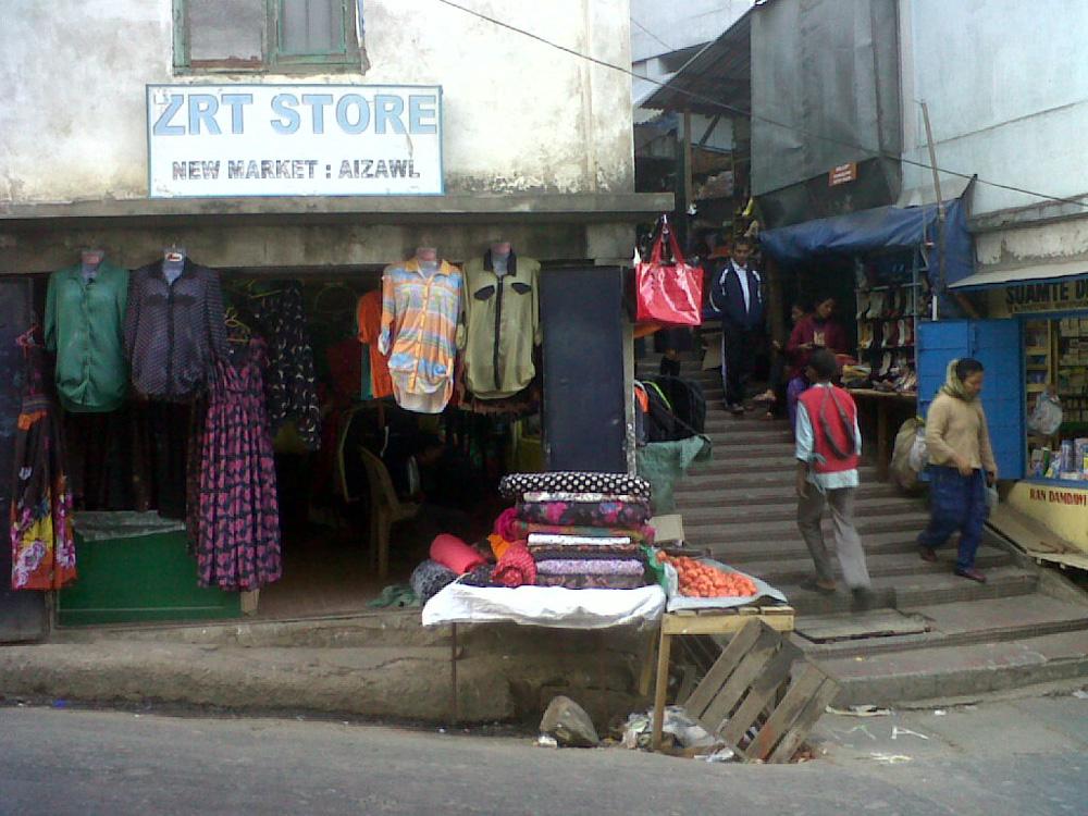 aizawl street market