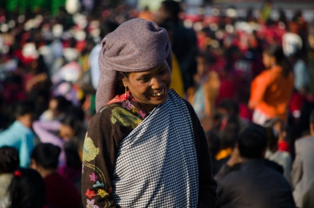 khasi woman shillong india