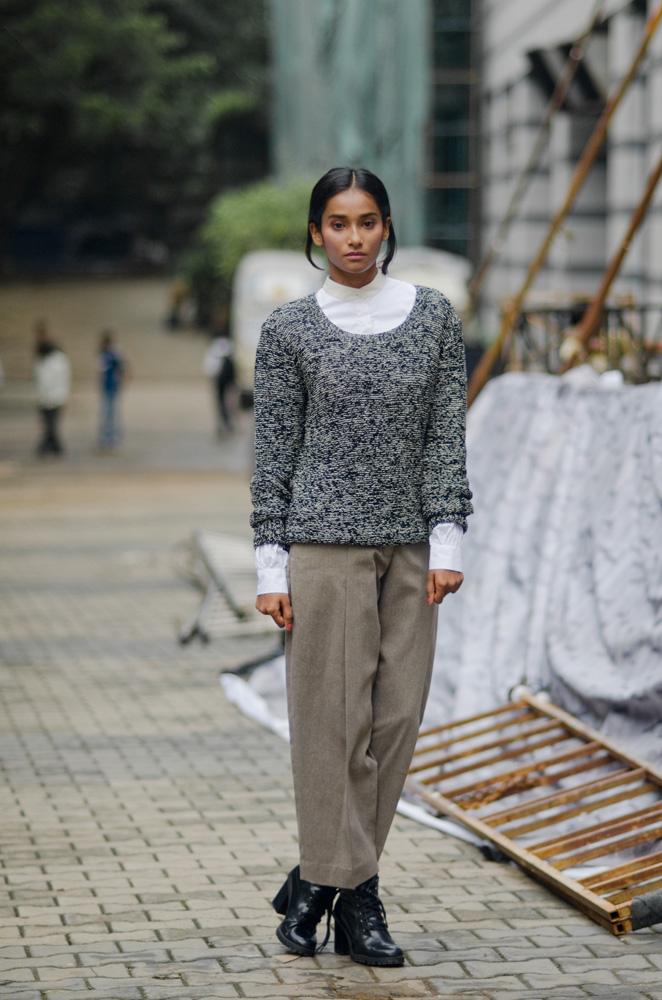 nidhi sunil fashion model