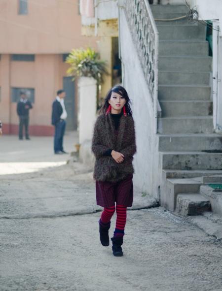 street style nagaland naga woman