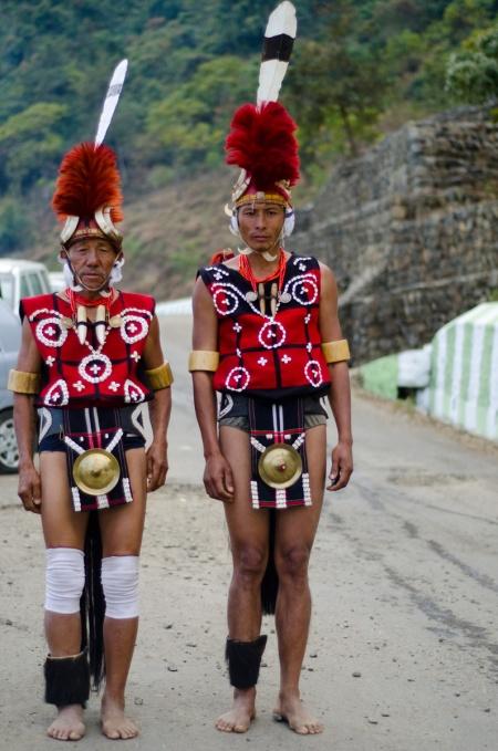 Yimchunger Naga tribe street style