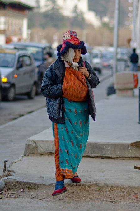 street style paro bhutan