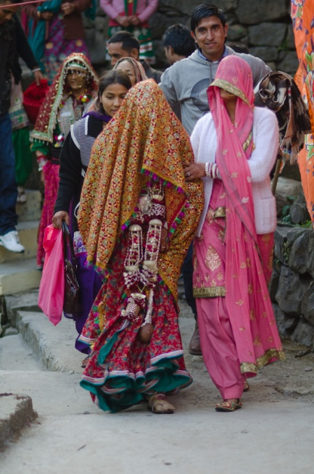 Indian wedding street style