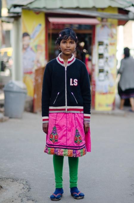 adivasi girl street style shillong